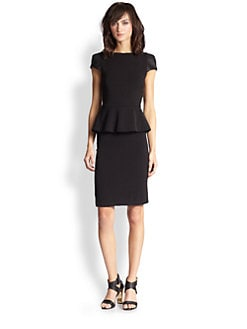 Alice + Olivia - Carlie Peplum Dress