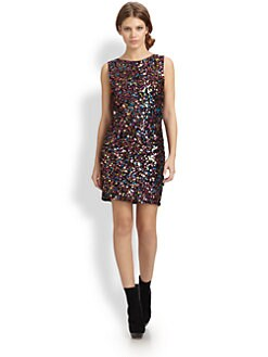 Alice + Olivia - Mona Sequined Dress