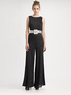 Alice + Olivia - Belgium Lurex Jumpsuit