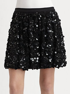 Alice + Olivia - Bobbi Sequined Skirt