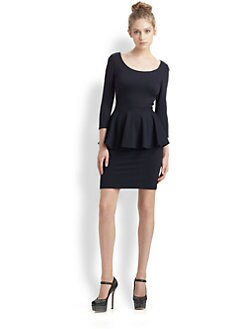 Alice + Olivia - Amanda Peplum Dress