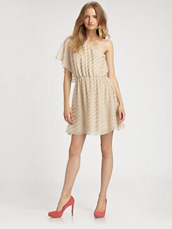 Alice + Olivia - Spirit One-Shoulder Dress