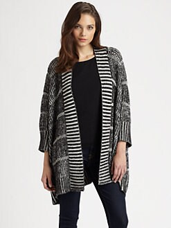 Alice + Olivia - Nera Rib-Knit Cardigan