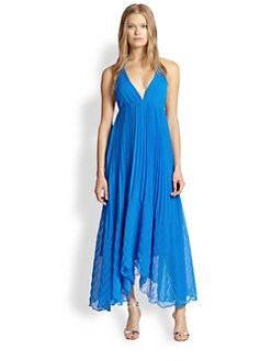 Alice + Olivia - Adalyn Pleated Maxi Dress