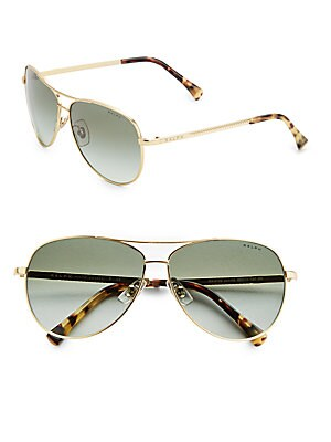 59MM Aviator Sunglasses