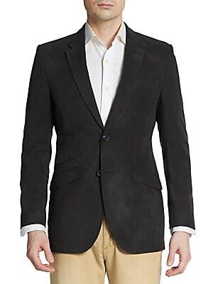 Regular-Fit Twill Sportcoat