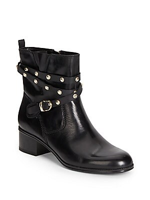 Cameria Leather Ankle Boots