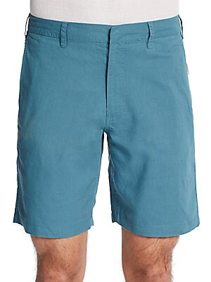 Abe Linen/Cotton Shorts