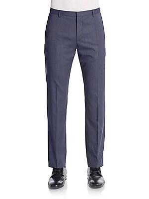 Jeffrey Virgin Wool Trousers