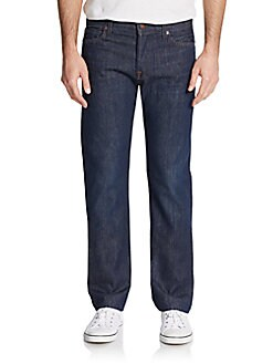 Designer Clothes Discount For Men Standard Straight Leg Jeans