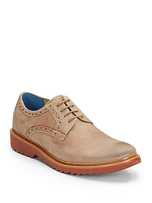 Bethune Leather Derby Shoes