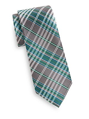 Fulton Silk Plaid Tie