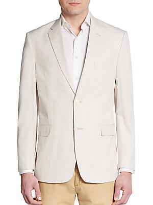 Regular-Fit Tonal Pinstripe Sportcoat