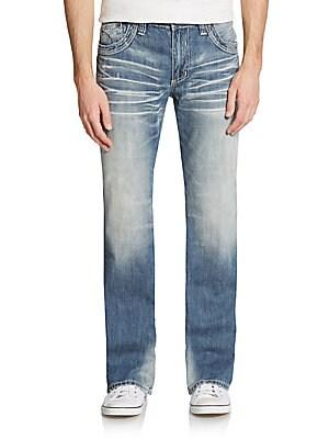 Cooper Flap-Pocket Jeans