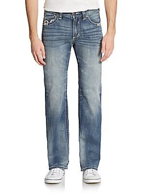 Cooper Embroidered Pocket Jeans