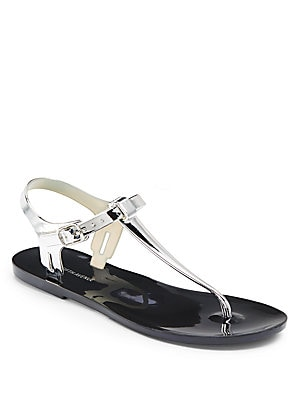 Bree Metallic Jelly Sandals