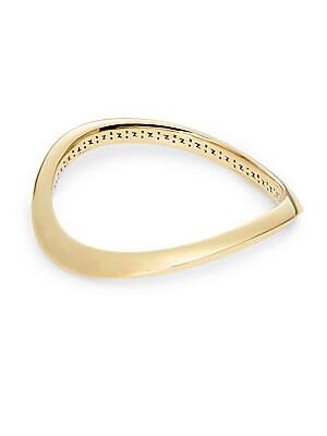 Curve Bangle Bracelet