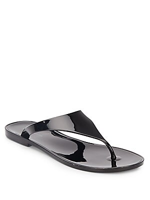 Star Jelly Thong Sandals
