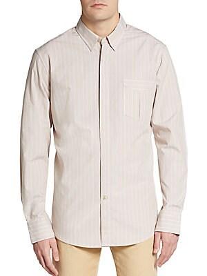 Striped Cotton Sportshirt