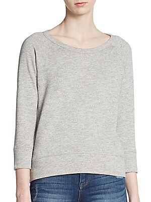 Cotton Raglan Pullover
