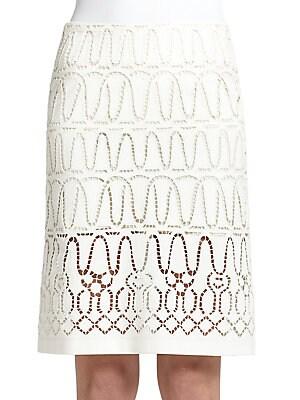 Eyelet Lace Skirt