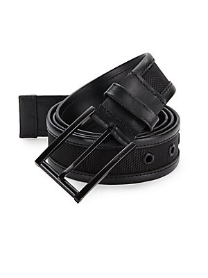 Ballistic Nylon & Leather Belt