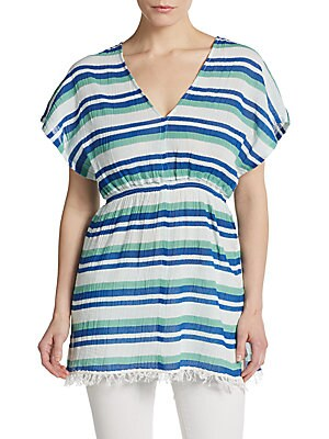 Striped Gauze Tunic