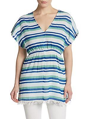 Striped Gauze Tunic
