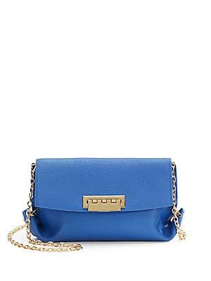 Saffiano Leather Crossbody Mini Bag