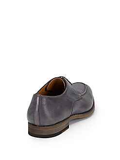 Pebbled Leather Loafers