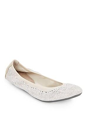 Chaste Studded Ballet Flats