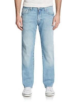 Zach Yaleto Straight Leg Jeans