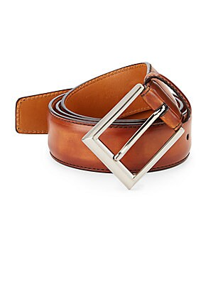 COLLECTION Burnished Leather Belt
