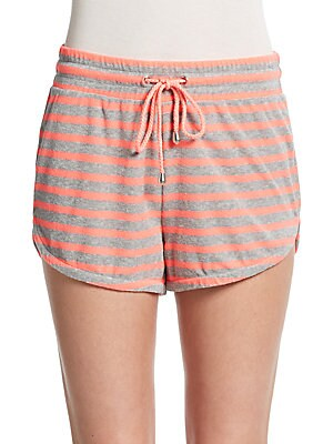 Striped Cutaway Shorts