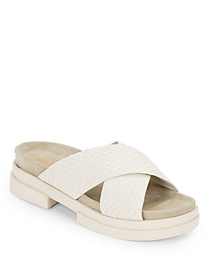 Star Crisscross Slide Sandals