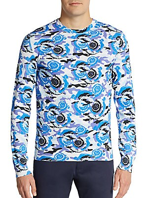 Printed Cotton Jersey Pullover