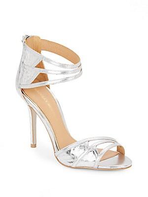 Felisha Metallic Leather Sandals