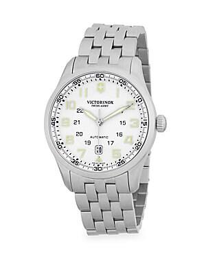 Airboss Stainless Steel Bracelet Watch