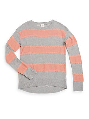 Girl's Iris Striped Sweater