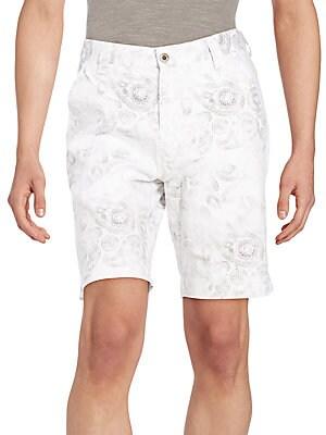 Bahia Paisely-Print Shorts