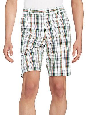 Barbuda Plaid Shorts