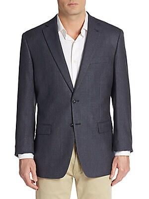 Silk & Wool-Blend Sportcoat