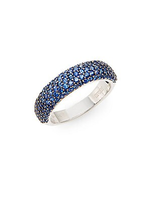 Click here for Sapphire & 14K White Gold Ring prices