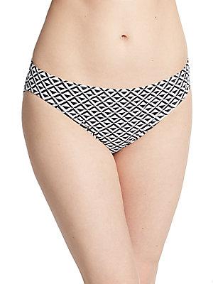 Geometric Print Bikini Bottom