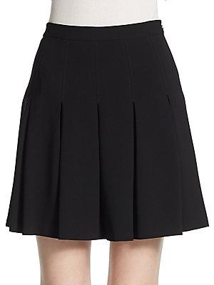 Gemma Cotton/Silk Skirt