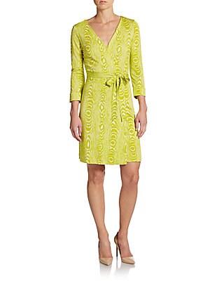 New Julian Silk Jersey Wrap Dress