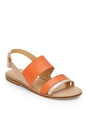 Eajabelle Leather Sandals