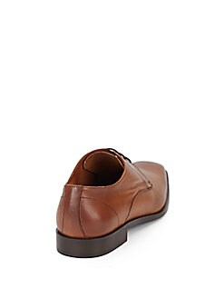 Saffiano Leather Derbys