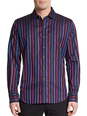 Maiden Lane Woven Sportshirt