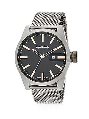 Stainless Steel Mesh Bracelet Watch